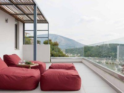 Villa Soledad in Athens, outdoors, by Olive Villa Rentals