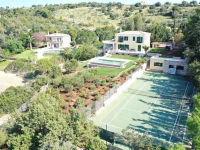 Villa Anais in Porto Heli, basketball court, by Olive Villa Rentals