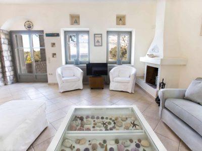 Villa Aureli in Porto Heli, living room, by Olive Villa Rentals