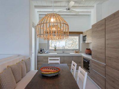 Villa Luna in Tinos, kitchen, by Olive Villa Rentals