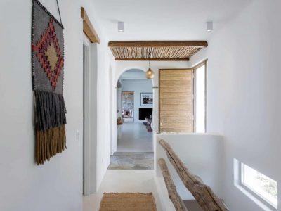 Villa Luna in Tinos, indoors, by Olive Villa Rentals