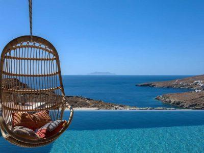 Villa Luna in Tinos, sea view, by Olive Villa Rentals