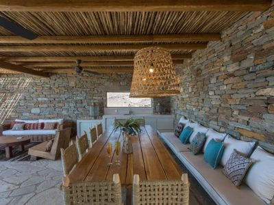 Villa Luna in Tinos, outdoors, by Olive Villa Rentals