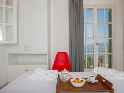 Villa Carmina in Aaegina, bedroom, by Olive Villa Rentals