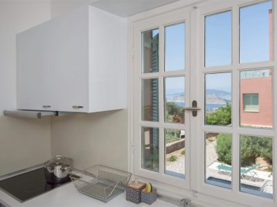 Villa Carmina in Aaegina, kitchen, by Olive Villa Rentals