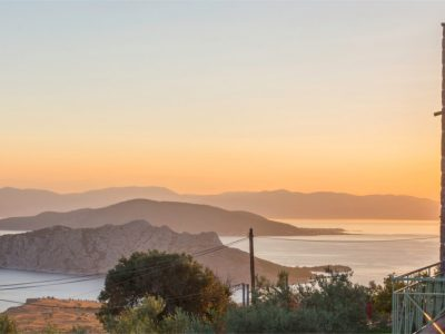 Villa Carmina in Aaegina, sunrise, by Olive Villa Rentals