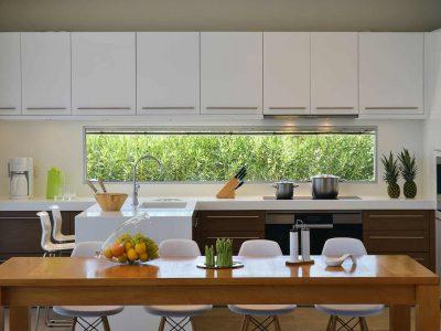 Villa Azzuro in Aegina Greece, kitchen, by Olive Villa Rentals