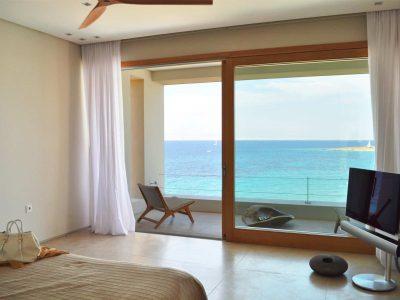 Villa Azzuro in Aegina Greece, bedroom, by Olive Villa Rentals