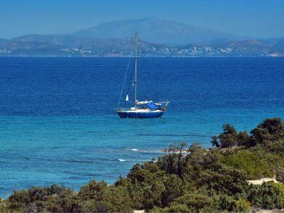 Villa Azzuro in Aegina Greece, sea view, by Olive Villa Rentals