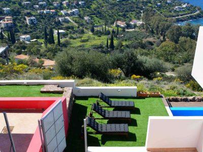 Villa Harmonia in Aegina Greece, sea view 8, by Olive Villa Rentals