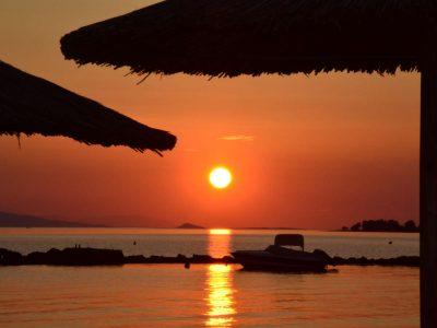 Villa Harmonia in Aegina Greece, sunset 3, by Olive Villa Rentals