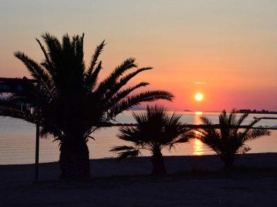 Villa Harmonia in Aegina Greece, sunset 4, by Olive Villa Rentals