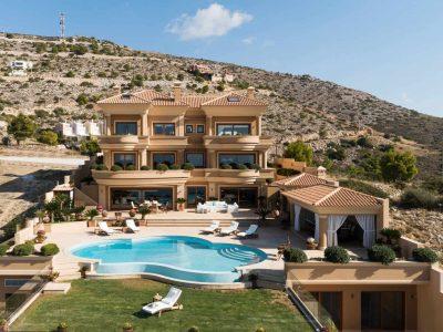 Villas-Olive Villa Rentals-Athens-Villa Primavera-1