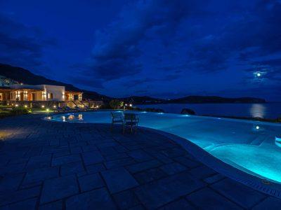 Villa-Helios-Crete-by-Olive-Villa-Rentals-night-outdoor-pool