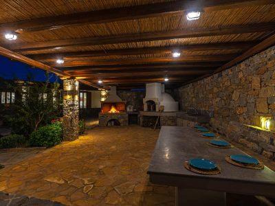 Villa-Hesperis-Crete-by-Olive-Villa-Rentals-night--outdoors-BBQ
