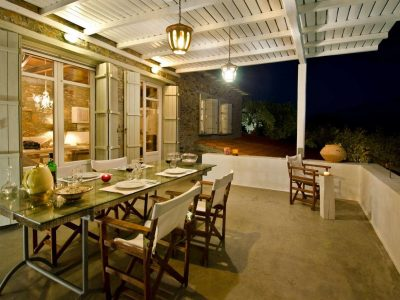 Villa- Cylena -Skopelos-by-Olive-Villa-Rentals-property-a-balcony-night