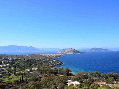 Villa Calypso in Aegina Greece, sea view 3, by Olive Villa Rentals