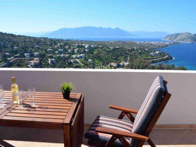 Villa Iris in Aegina Greece, sea view 4, by Olive Villa Rentals