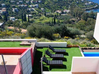 Villa Iris in Aegina Greece, sea view 10, by Olive Villa Rentals