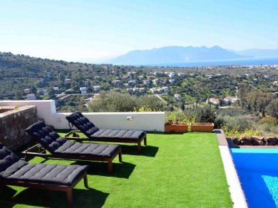 Villa Iris in Aegina Greece, pool 4, by Olive Villa Rentals