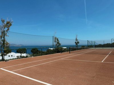 Villa Eurydice in Antiparos Greece, tennis, by Olive Villa Rentals