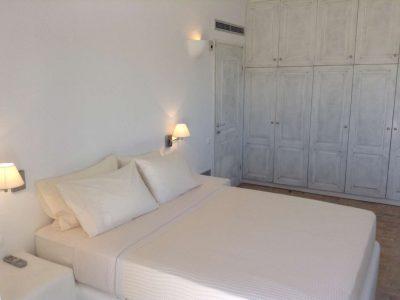 Villa Eurydice in Antiparos Greece, bedroom, by Olive Villa Rentals