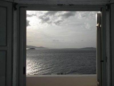 Villa Eurydice in Antiparos Greece, sea view, by Olive Villa Rentals