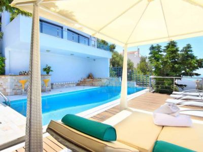 Villa Beverly in Athens Greece, pool 2, by Olive Villa Rentals