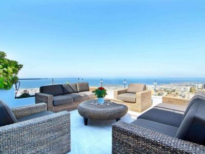 Villa Beverly in Athens Greece, sea view, by Olive Villa Rentals
