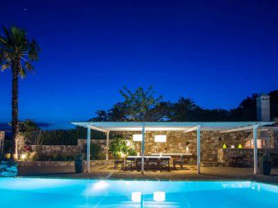 Villa Miltiades in Athens Greece, pool 4, by Olive Villa Rentals
