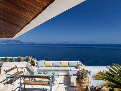 Villa Miltiades in Athens Greece, sea view 2, by Olive Villa Rentals