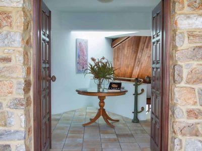 Villa Miltiades in Athens Greece, entrance, by Olive Villa Rentals