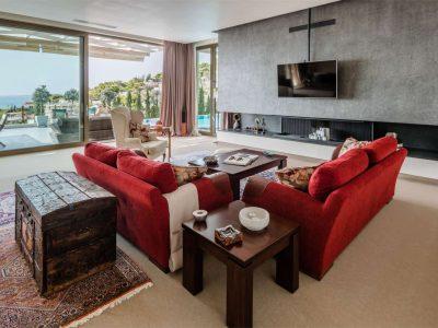 Villa Serenity in Athens000000 Greece, lounge , by Olive Villa Rentals