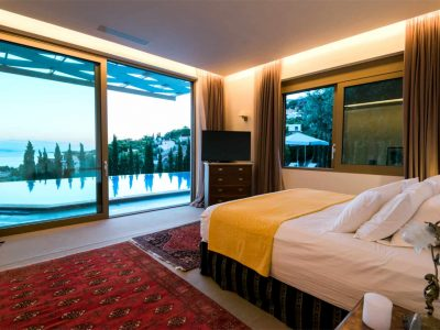 Villa Serenity in Athens000000 Greece, master bedroom , by Olive Villa Rentals