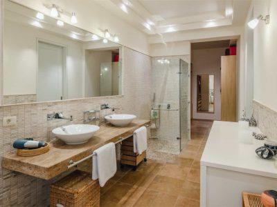 Villa Serenity in Athens000000 Greece, master bathroom , by Olive Villa Rentals