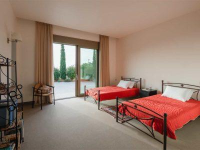 Villa Serenity in Athens000000 Greece, twin bedroom , by Olive Villa Rentals