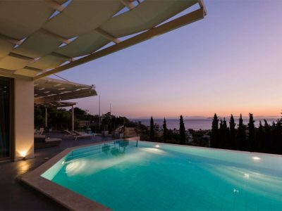 Villa Serenity in Athens000000 Greece, sunset , by Olive Villa Rentals