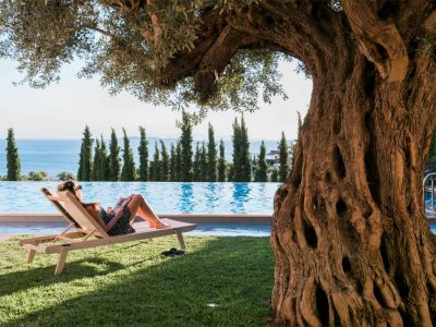 Villa Serenity in Athens000000 Greece, pool view, by Olive Villa Rentals