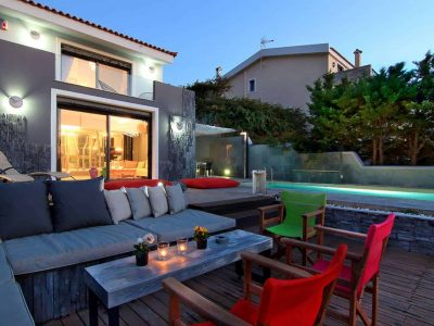 Villa Themis in Athens Greece, house 2, by Olive Villa Rentals