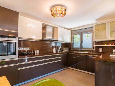 Villa Themis in Athens Greece, kitchen 2, by Olive Villa Rentals