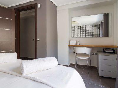 Villa Themis in Athens Greece, bedroom 3, by Olive Villa Rentals