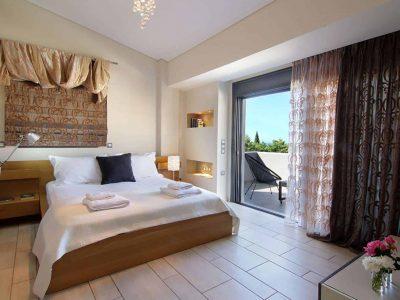 Villa Themis in Athens Greece, bedroom 6, by Olive Villa Rentals