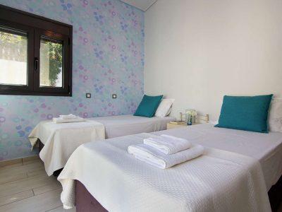 Villa Themis in Athens Greece, bedroom 9, by Olive Villa Rentals