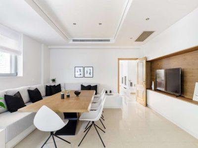 Olive Urban Estate in Athens Greece, dining room 2, by Olive Villa Rentals