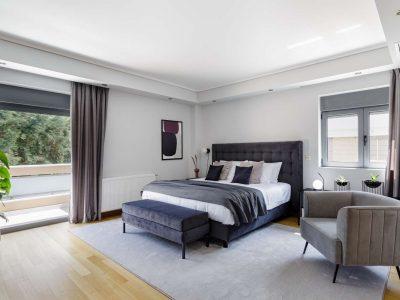 Olive Urban Estate in Athens Greece, bedroom 3, by Olive Villa Rentals