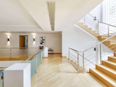 Olive Urban Estate in Athens Greece, stairway 2, by Olive Villa Rentals