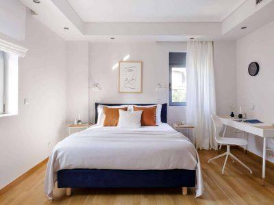 Olive Urban Estate in Athens Greece, bedroom 4, by Olive Villa Rentals