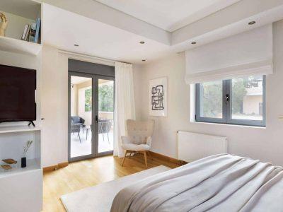 Olive Urban Estate in Athens Greece, bedroom 5, by Olive Villa Rentals