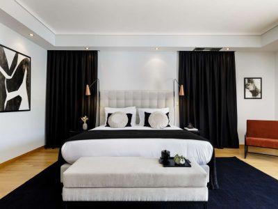 Olive Urban Estate in Athens Greece, bedroom 6, by Olive Villa Rentals