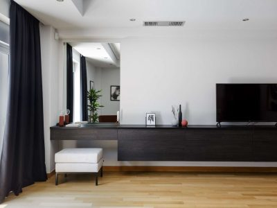 Olive Urban Estate in Athens Greece, TV, by Olive Villa Rentals